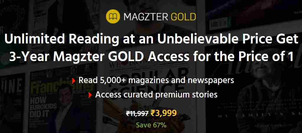 online magazine subscription